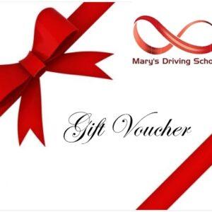 Driving School Gift Voucher